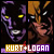 James Howlett 'Logan' (Wolverine) and Kurt Wagner (Nightcrawler):
